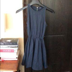 Gap dress, teal, zip back sz. XS